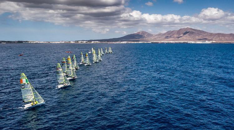 Lanzarote International Regatta, competición clasificatoria de Europa y África para Tokio 2020, se celebró en marzo de 2021 en aguas de las Islas Canarias